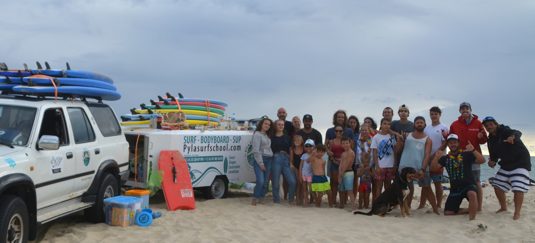 Pyla Surf Club La Salie Automne 2020