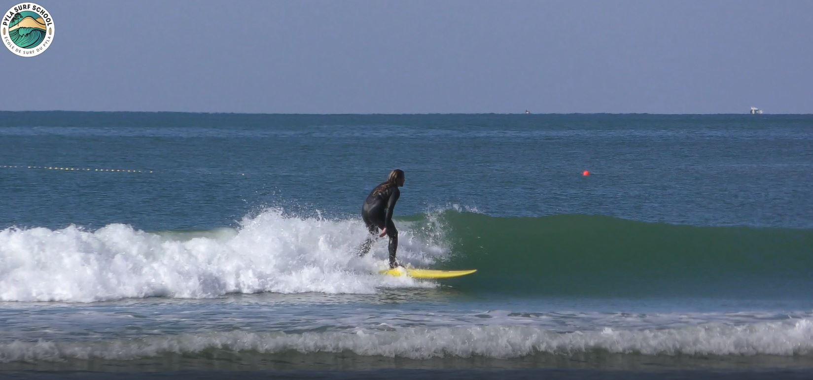 Longboard La Salie Ecole de Surf Pyla Arcachon